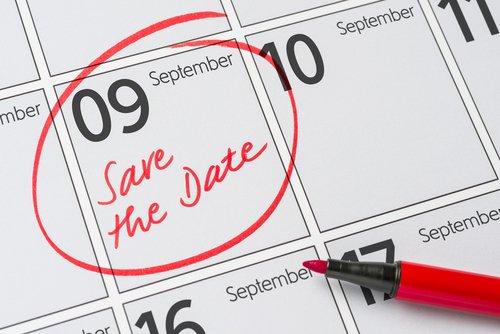 9 de septiembre marcado en el calendario. | Fuente: Shutterstock.