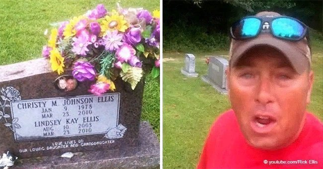 Dad visits daughter's grave and reveal tragic details about who was responsible for her death