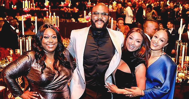 Tamera Mowry, Loni Love & Jeannie Mai of 'The Real' Dress up for Tyler Perry's Film Studio Opening