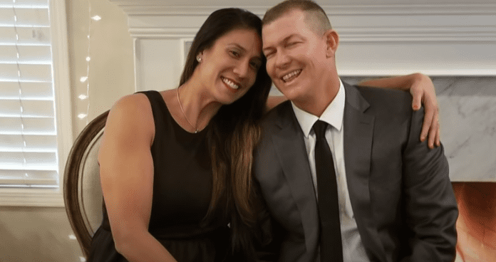 Mauser and his wife Christina during happier days | Source: YouTube/AmericasGotTalent