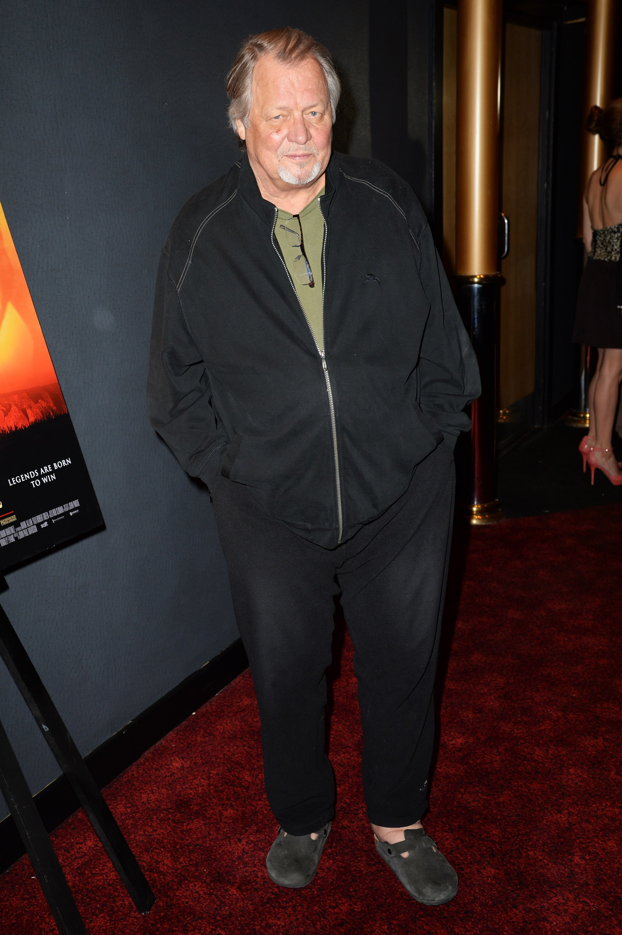 David Soul attends the world premiere of 'Seve' at The Empire Leicester Square on June 23, 2014 | Photo: GettyImages