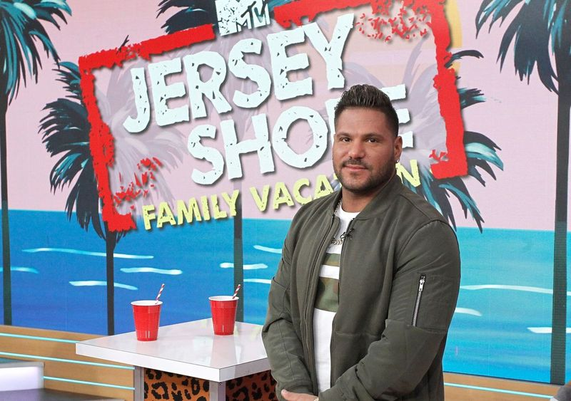 Ronnie Ortiz-Magro joins the 'Jersey Shore' cast on 'Good Morning America' on March 27, 2018 | Photo: Getty Images