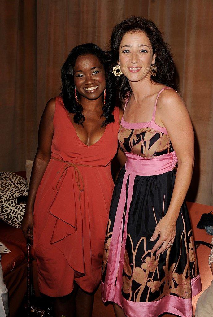 Moira Kelly et Niketa Calame le 27 août 2011 à Los Angeles. l Source : Getty Images