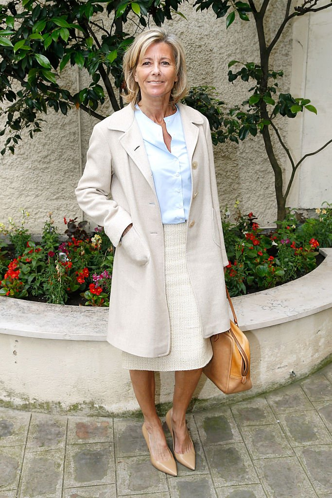 Claire Chazal très élégante. | Photo : Getty Images