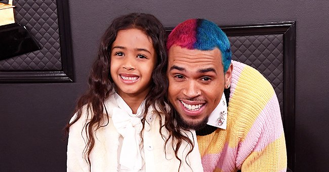 Chris Brown's Daughter Royalty Says She Feels Like a Queen Rocking an Awesome Floral Skirt