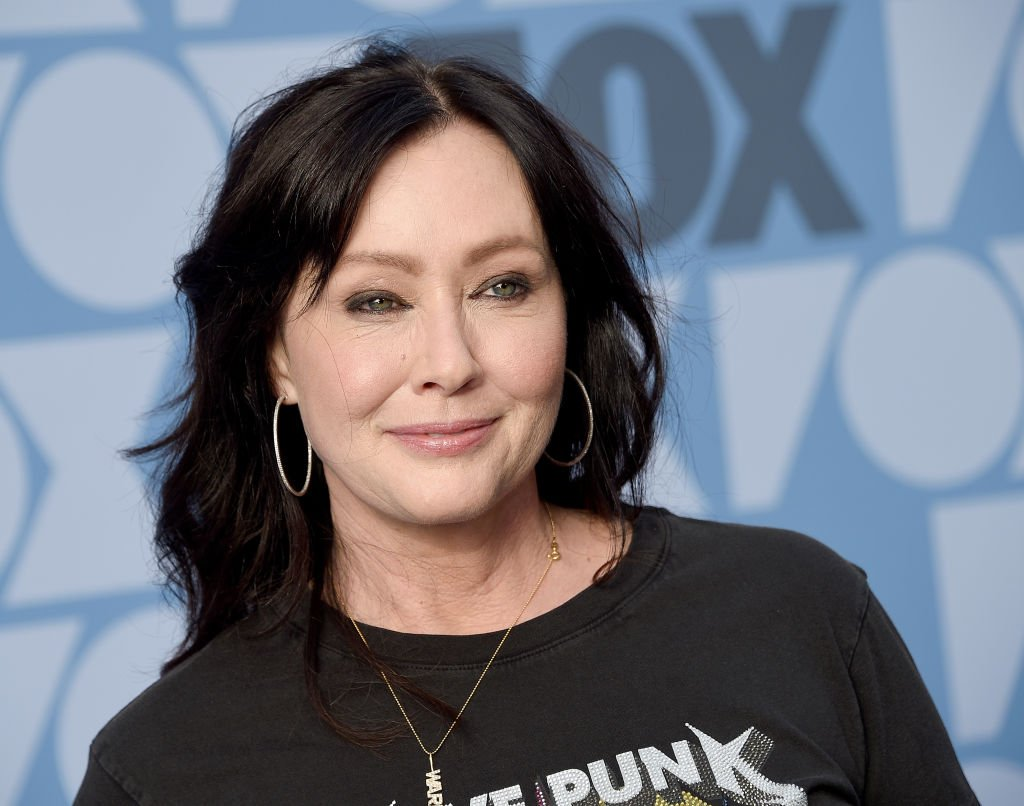 Shannen Doherty arrives at the FOX Summer TCA 2019 All-Star Party on August 7, 2019, in Los Angeles, California. | Source: Getty Images.