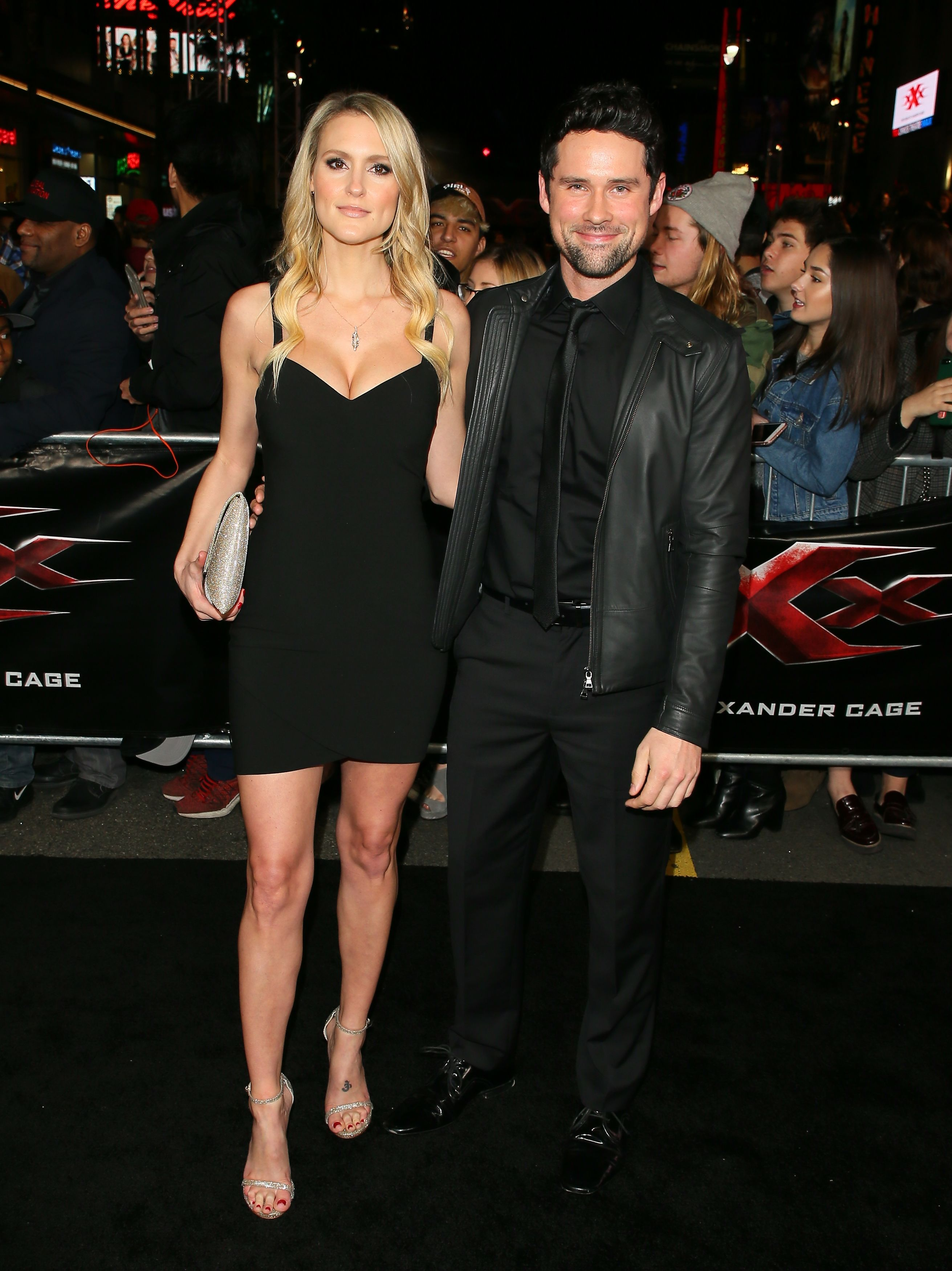 "Nila Myers and Ben Hollingsworth at the premiere of ""xXx: Return Of Xander Cage"" on January 19, 2017, in Los Angeles, California 