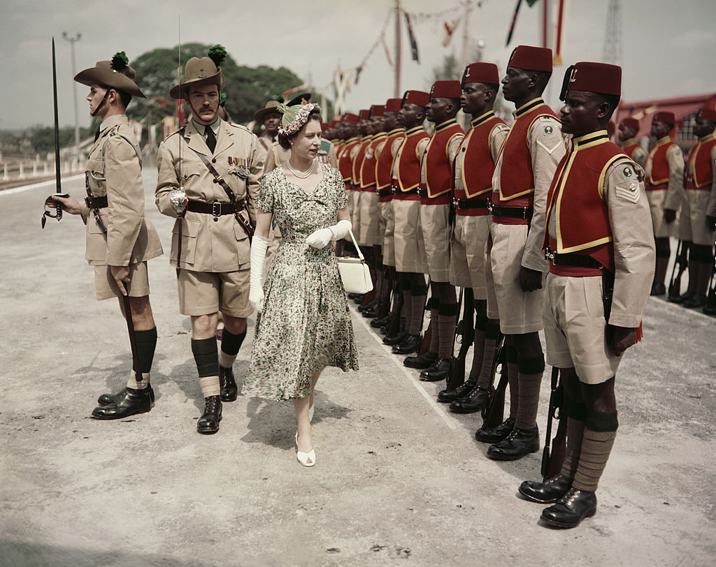 Image Credits: Getty Images / Queen Elizabeth in Nigeria