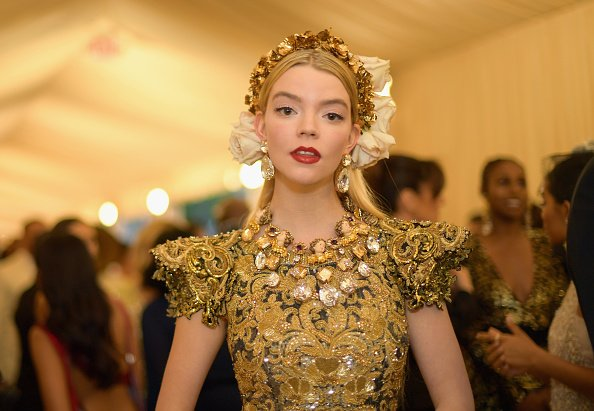 Anya Taylor-Joy at The Metropolitan Museum of Art on May 7, 2018 in New York City. | Photo: Getty Images