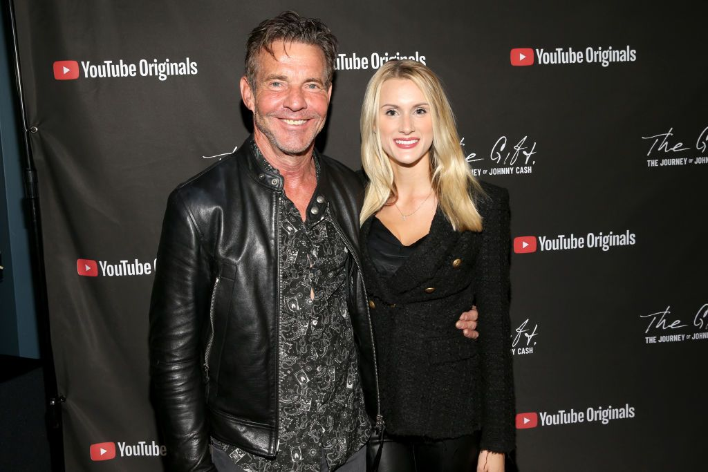 """Dennis Quaid and Laura Savoie at CASH FEST In Celebration Of YouTube Originals Documentary """"THE GIFT: THE JOURNEY OF JOHNNY CASH"""" at War Memorial Auditorium on November 10, 2019 