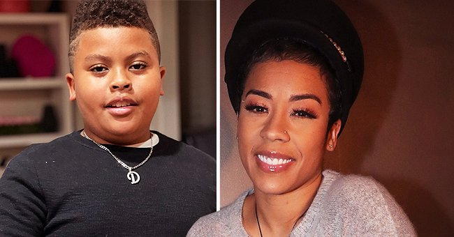 Keyshia Cole Shows off Her Joint Workout with Son Daniel Gibson Jr Using Dumbbells in a Video