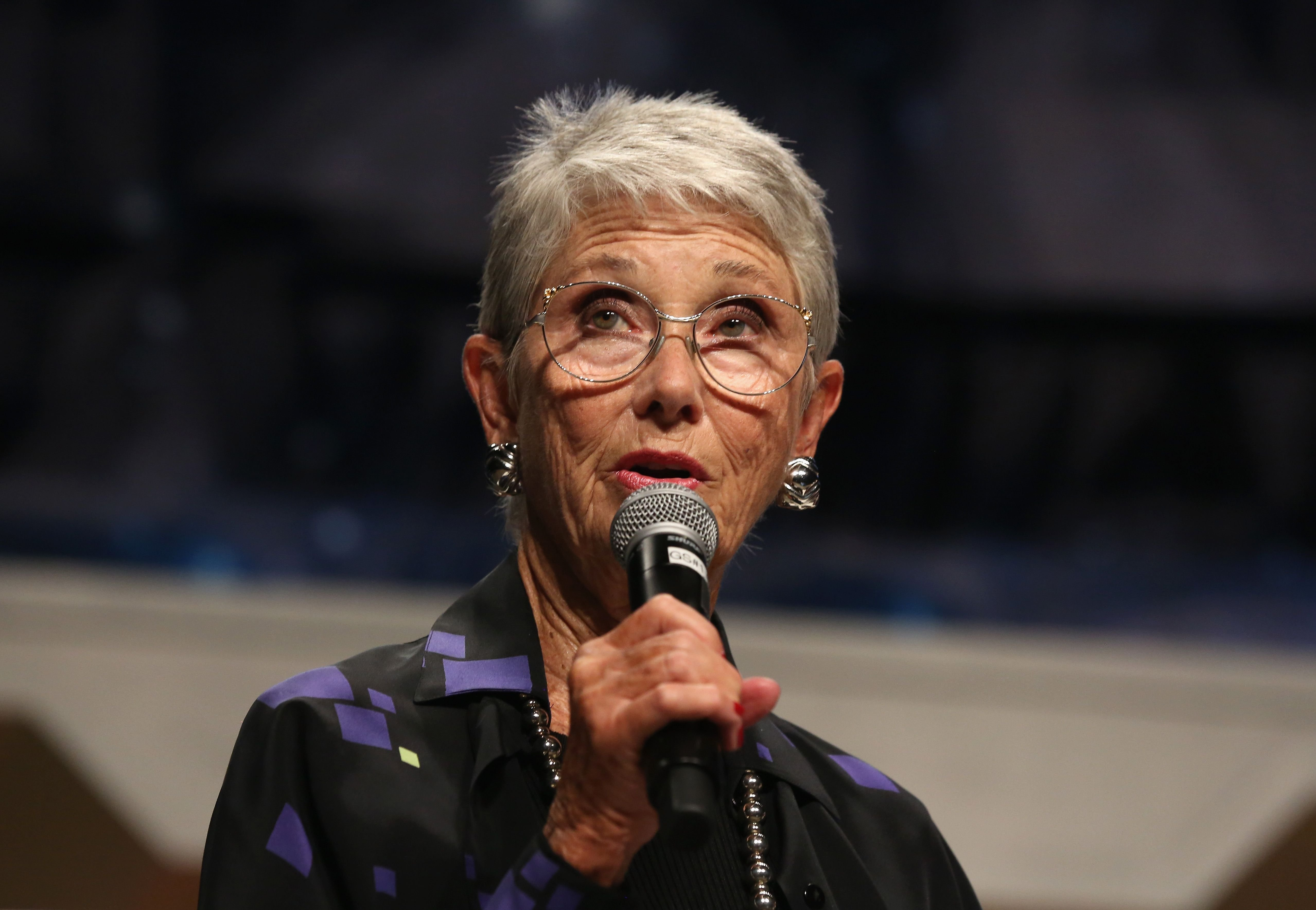 """Actress Elinor Donahue spoke at the """"Amazing Talents That Have Graced Star Trek"""" panel on August 3, 2016 