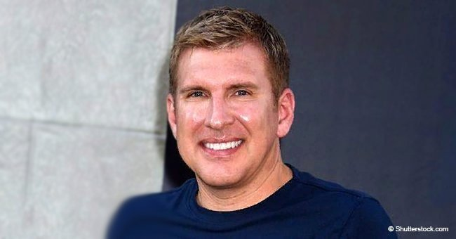 Todd Chrisley shares video of biracial granddaughter playing with her aunt's boyfriend in the pool