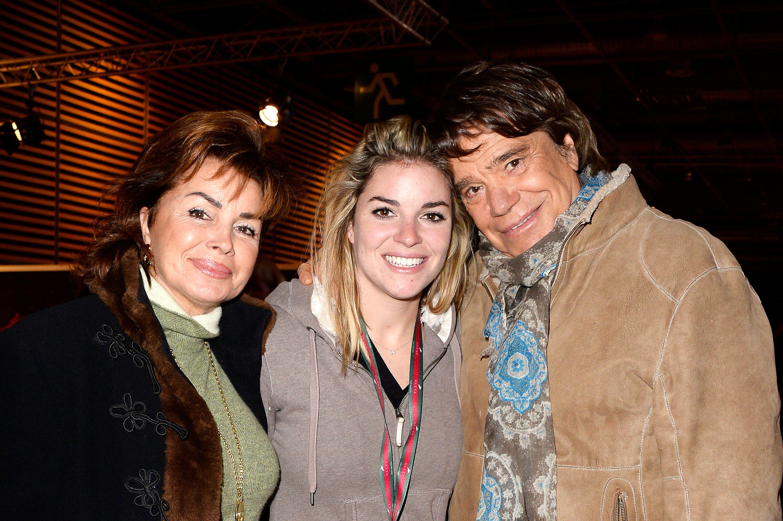 Bernard Tapie, se femme Dominique et leur fille Sophie l Source : Getty Images