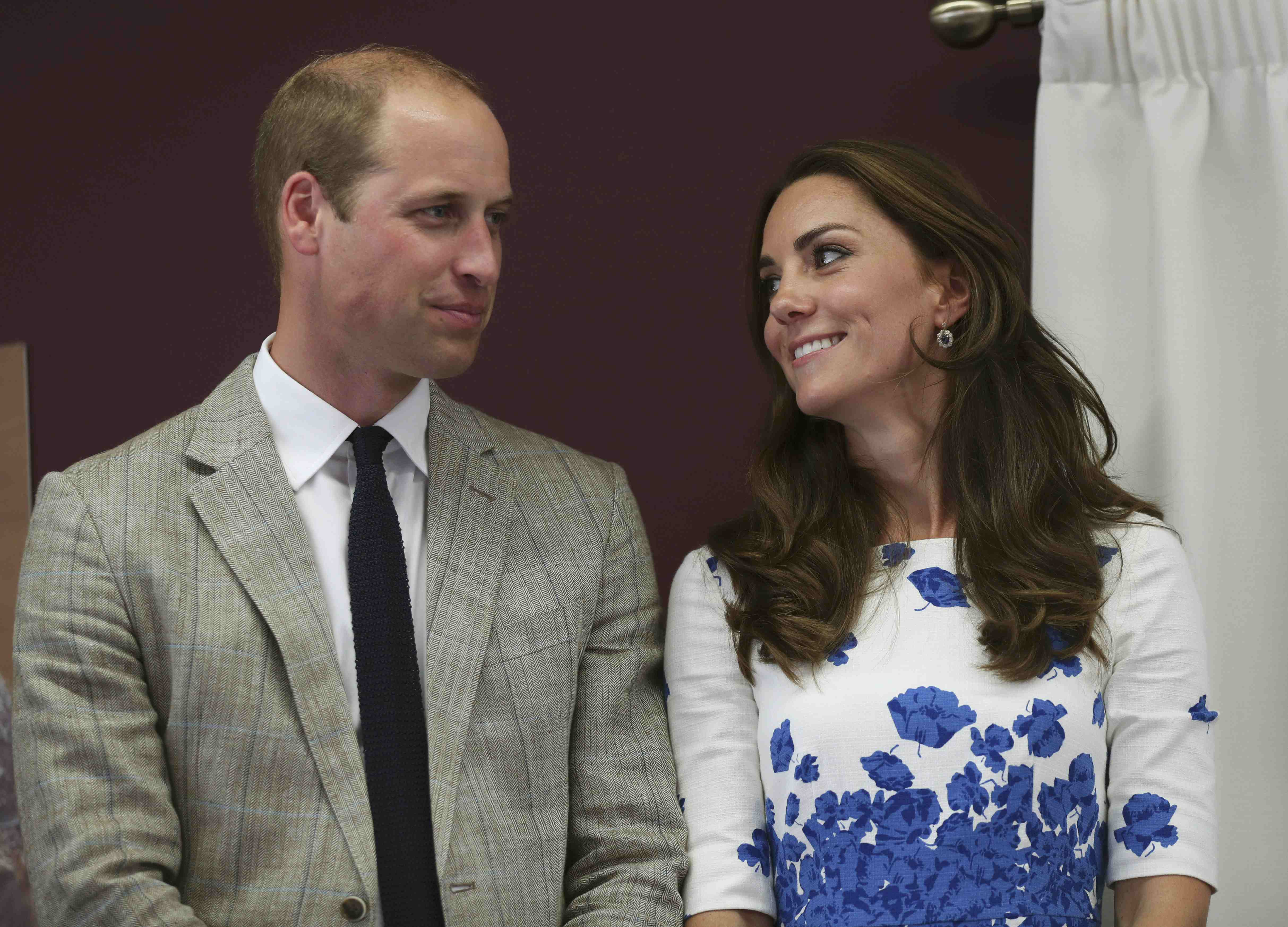 Prince William and Kate Middleton visit Hayward Tyler Luton on August 24, 2016. | Photo: GettyImages