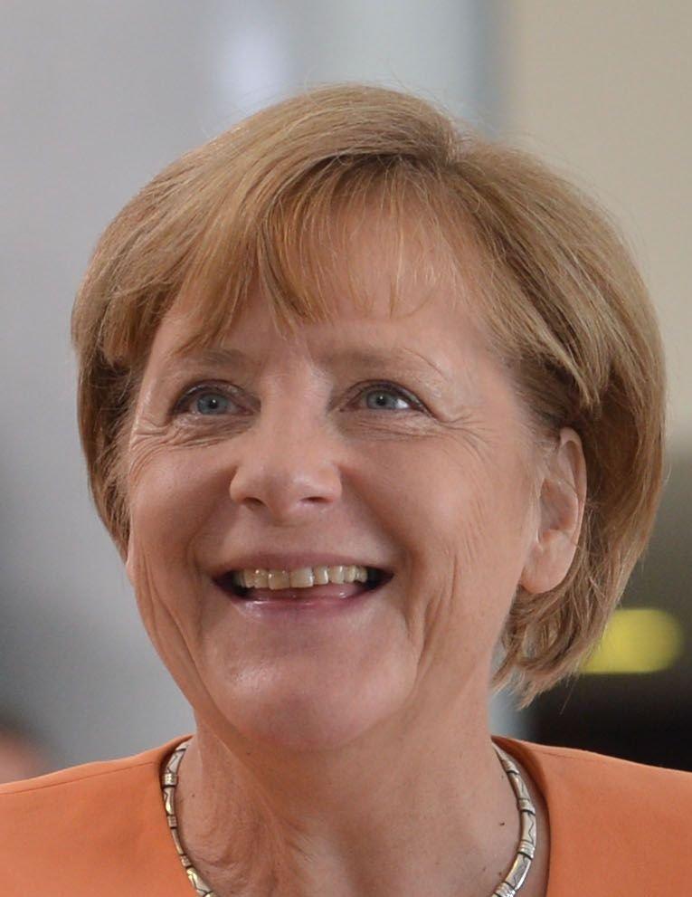 Angela Merkel, 2015 | Quelle: Wikimedia Commons