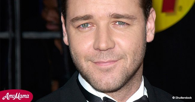 Russell Crowe looks barely recognizable after he gained weight