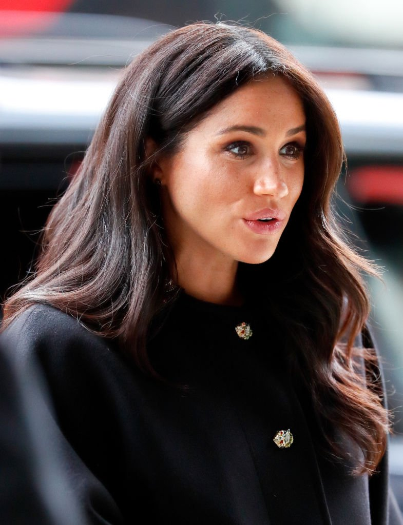 Meghan, Duchess of Sussex visits New Zealand House to sign a book of condolence on behalf of The Royal Family following the recent terror attack which saw at least 50 people killed at a Mosque in Christchurch | Photo: Getty Images