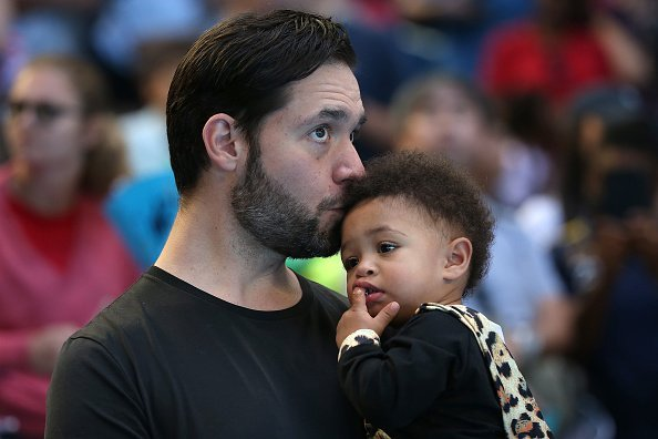 Alexis Ohanian, Tochter Alexis Olympia Ohanian Jr., 2019 Hopman Cup | Quelle: Getty Images