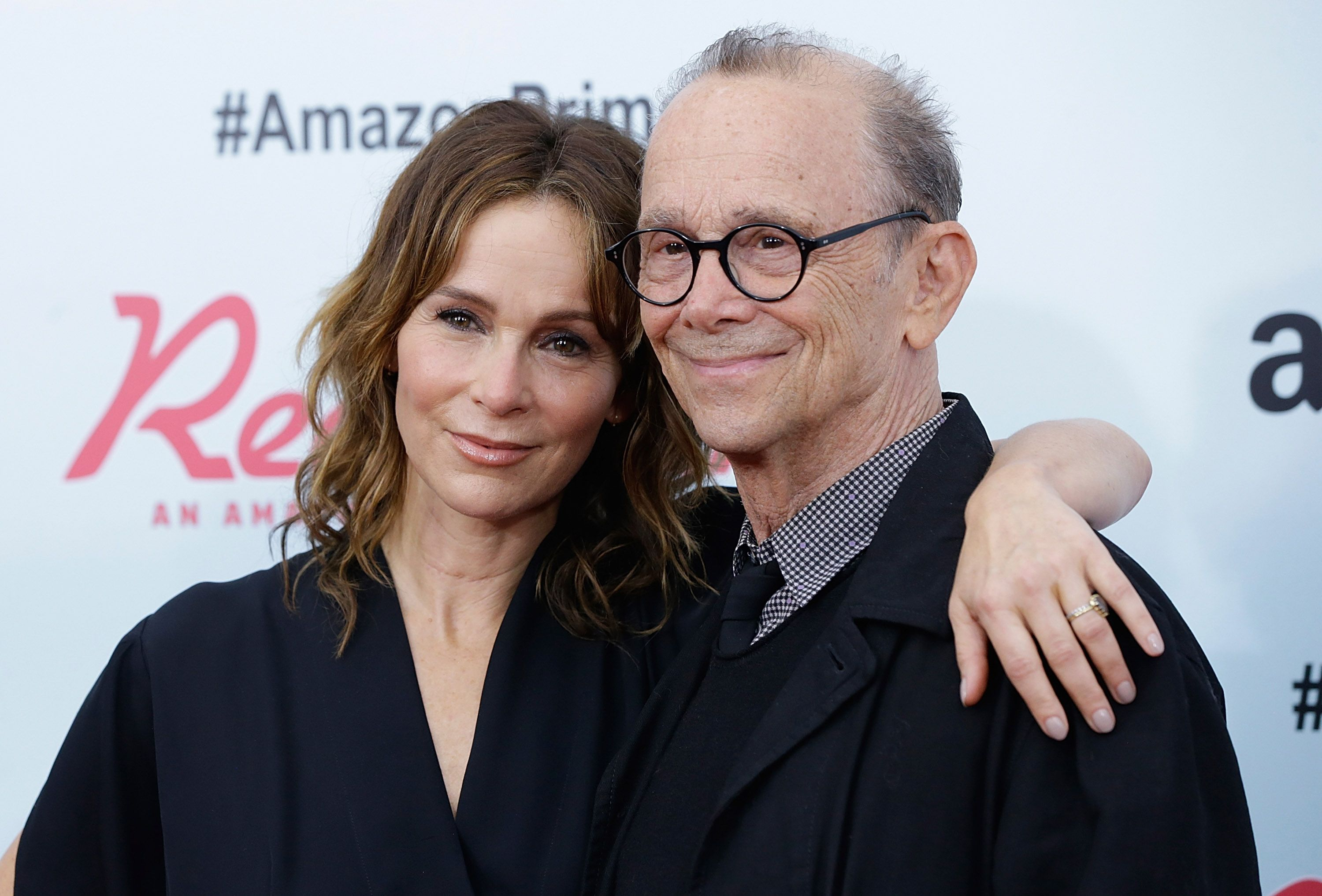 """Jennifer Grey and Joel Grey at the """"Red Oaks"""" series premiere in 2015 in New York City 
