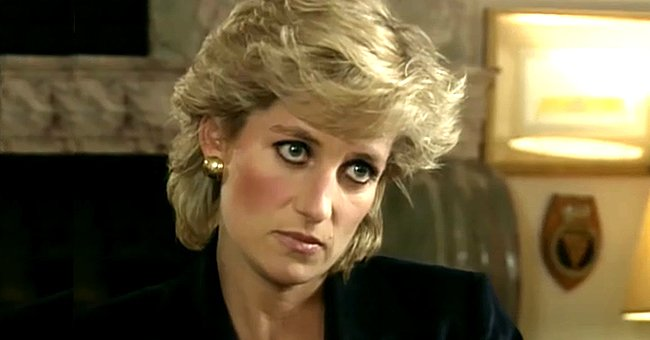 Princess Diana pictured during the Panorama interview.   Photo: youtube.com/Channel 4 News