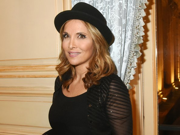 La chanteuse Helene Segara au Cercle Interallie le 08 décembre 2019 à Paris, France. | Photo : Getty Images