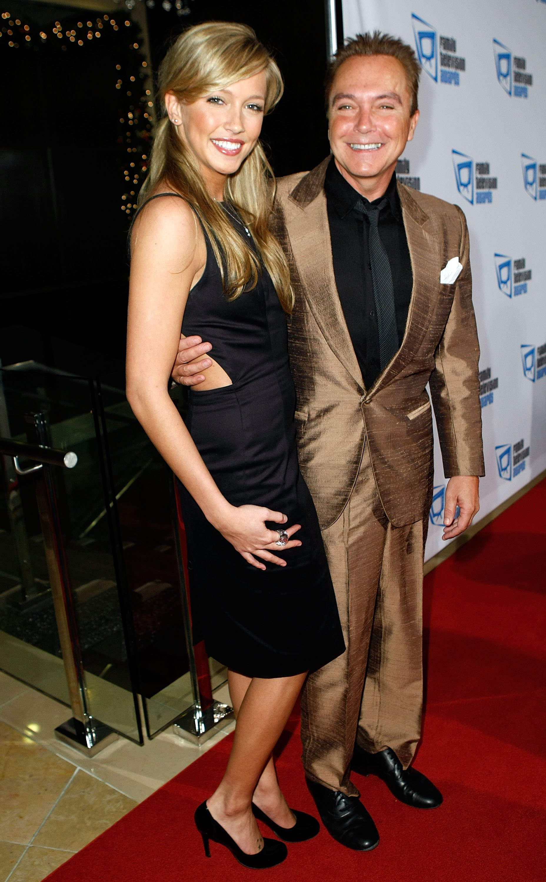 David Cassidy and Katie Cassidy arrive at the 9th annual Family Television Awards held at the Beverly Hilton Hotel on November 28, 2007, in Los Angeles, California. | Source: Getty Images.