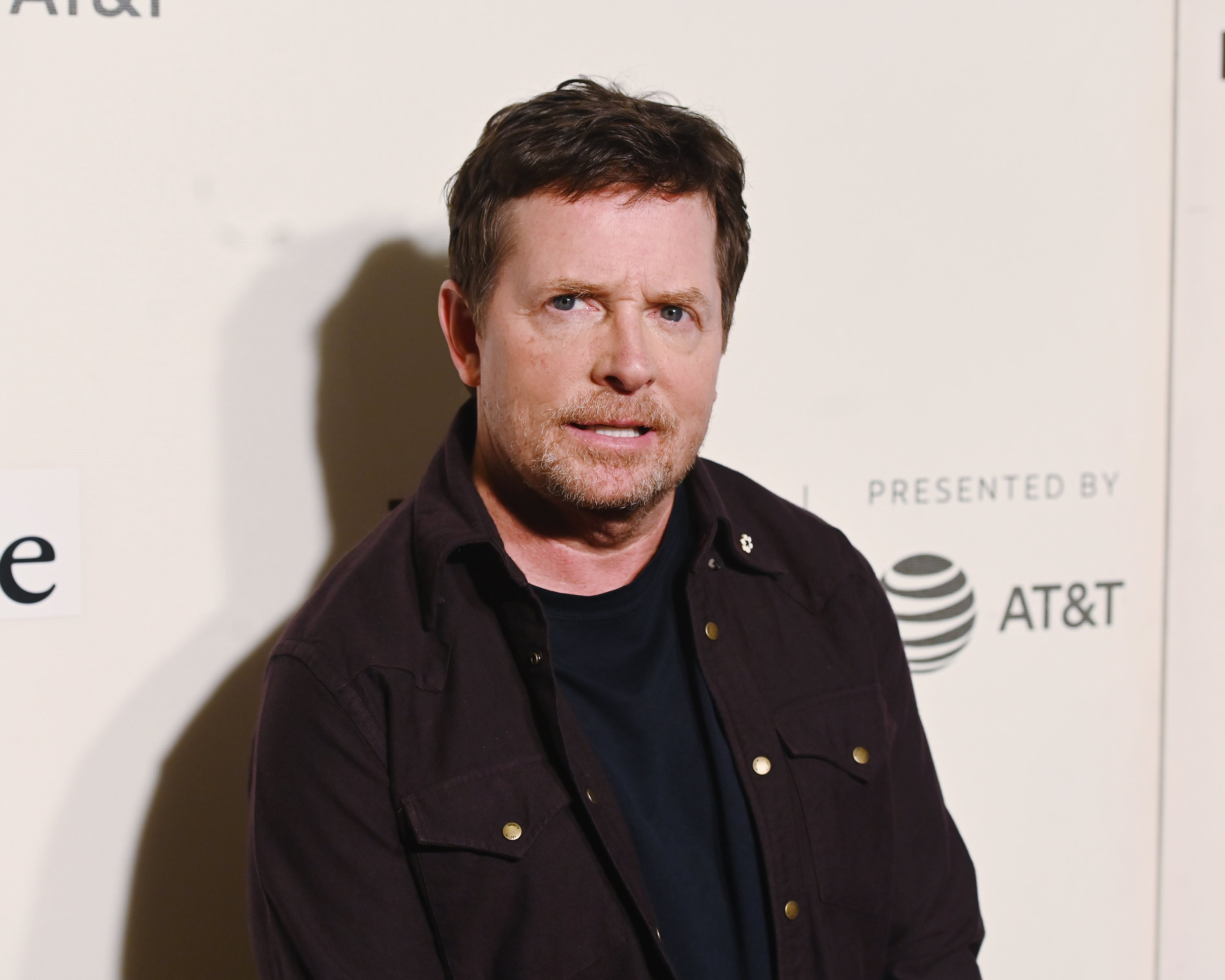 Michael J. Fox attends red carpet for the Tribeca Talks - Storytellers - 2019 Tribeca Film Festival at BMCC Tribeca PAC on April 30, 2019.   Source: Getty Images