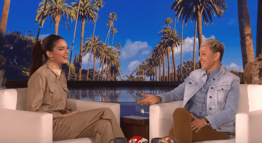 Kendall Jenner during an interview with Ellen DeGeneres during her talk show on January 31, 2020 . | Source: YouTube/TheEllenShow.
