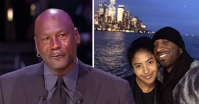 In Touch Weekly: Kobe's Oldest Daughter Natalia Became Intensely Emotional during Michael Jordan's Tribute