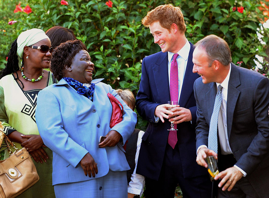 Image Credits: Getty Images/ Prince Harry in Gabarone, Botswana
