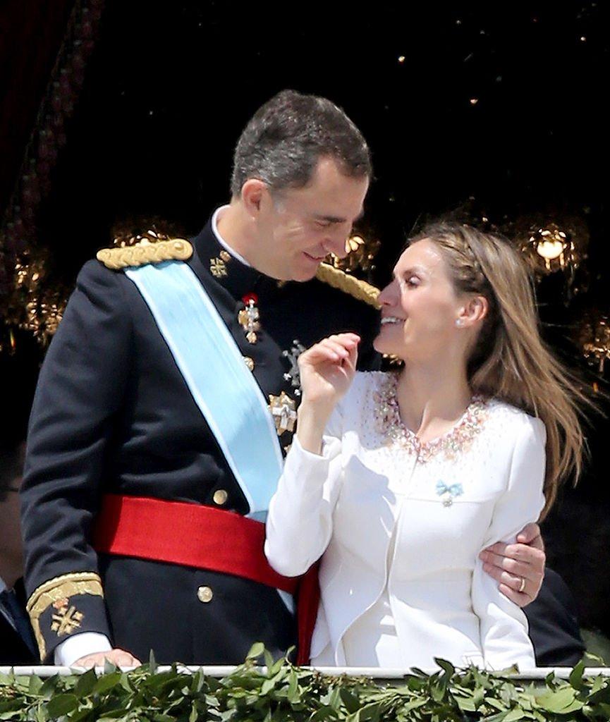 El rey Felipe y la reina Letizia.  Fuente: Getty Images
