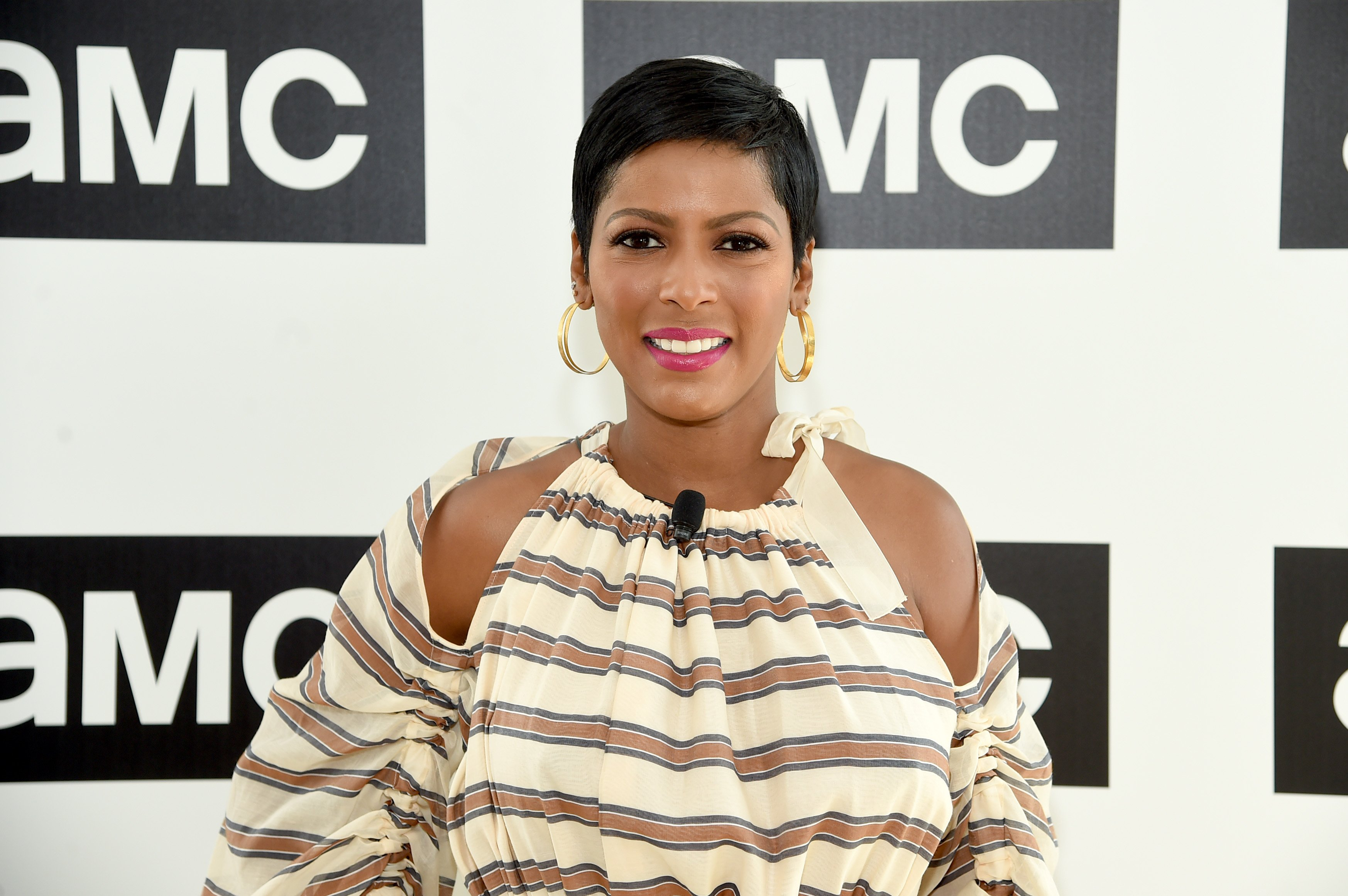 Tamron Hall pictured at the AMC Summit at Public Hotel on June 20, 2018 in New York City. | Source: Getty Images