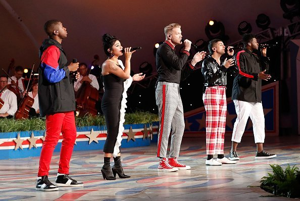 Pentatonix at U.S. Capitol, West Lawn on July 3, 2018 in Washington, DC | Photo: Getty Images