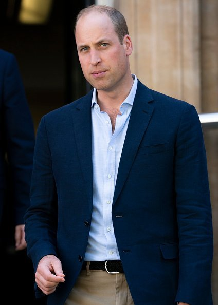 Prince William, Duke of Cambridge visits the Royal Marsden on July 04, 2019 in London, United Kingdom. HRH is the President of The Royal Marsden NHS Foundation Trust | Photo: Getty Images