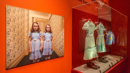 "Original costume props from the adaptation of ""The Shining."" 