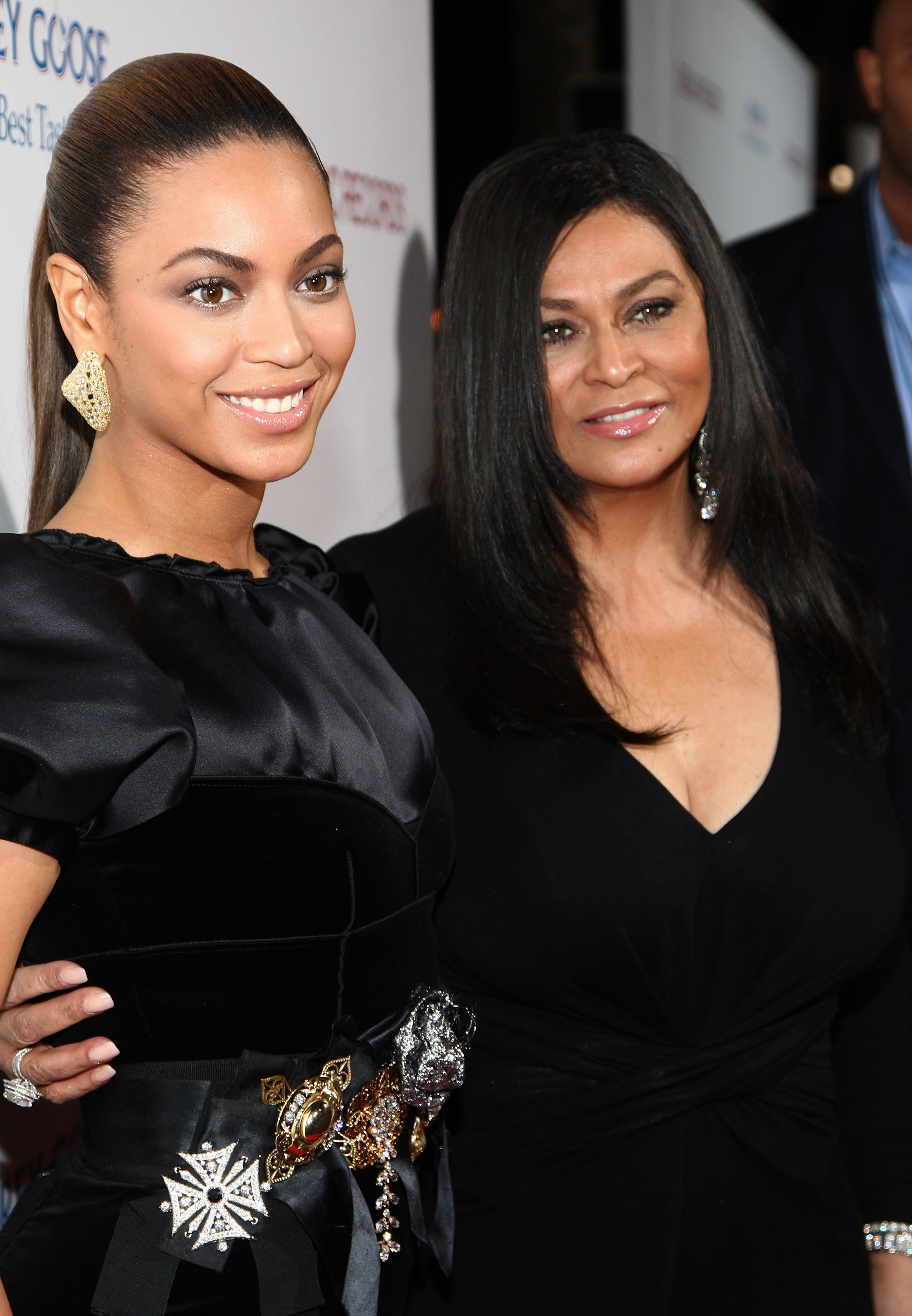 "Beyoncé & Tina Lawson at the premiere of ""Cadillac Records"" in Hollywood on Nov. 24, 2008. 