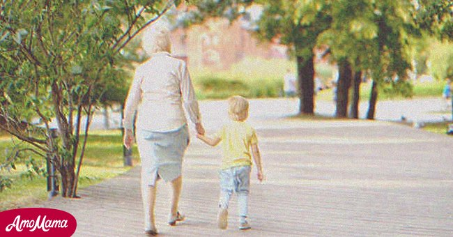 Older woman with a child | Source: Shutterstock