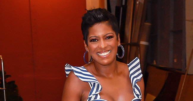 Tamron Hall Calls Son Moses Her Recipe Tester as She Shares Cute Photo of Him with a Full Belly