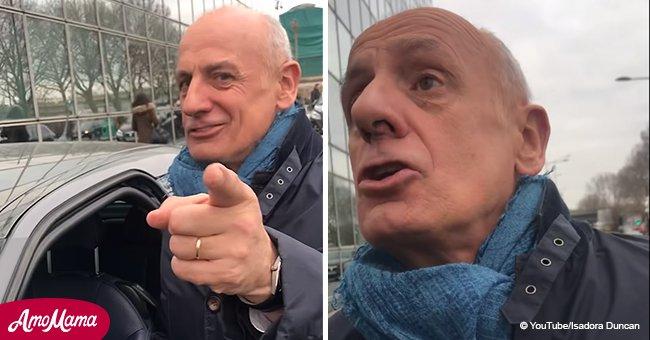 Jean-Michel Apathie répond à la provocation d'un journaliste déguisé en gilet jaune