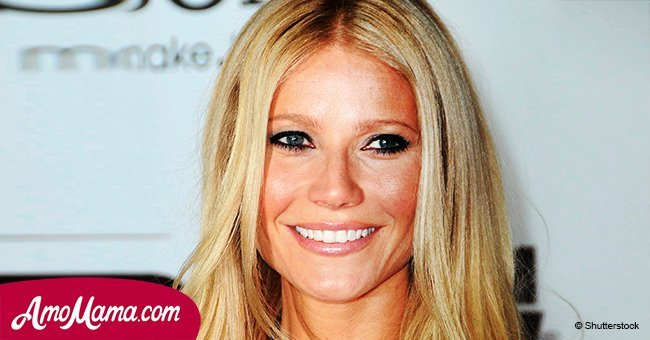 Gwyneth Paltrow's fiancee shares romantic photo of himself and his future wife kissing