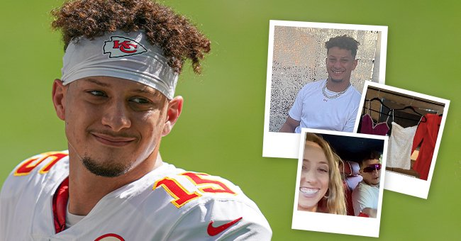 Patrick Mahomes looks on before the game against the Miami Dolphins on December 13, 2020 in Miami Gardens, Florida | Photo: instagram.com/brittanylynne Getty Images