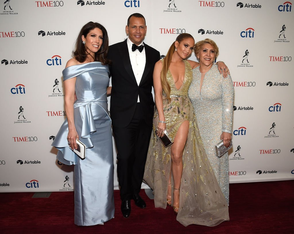 Lynda Lopez, Alex Rodriguez, Jennifer Lopez and Guadalupe at Lincoln Center in 2018 | Photo: Getty Images