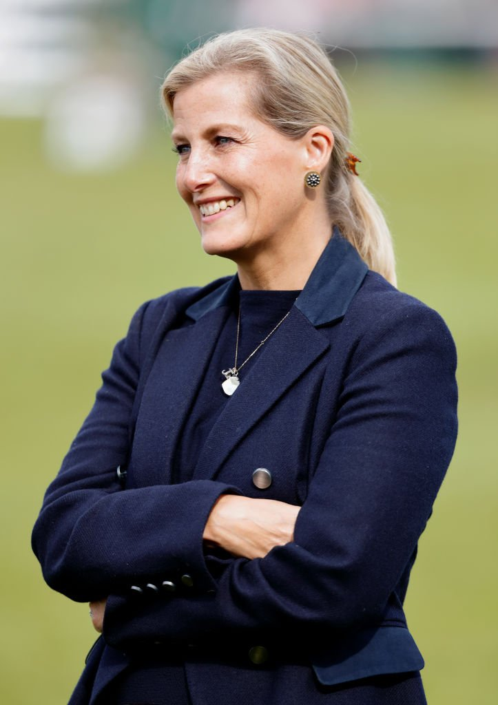 Sophie, Countess of Wessex attends The Land Rover Burghley Horse Trials at Burghley House | Photo: Getty Images