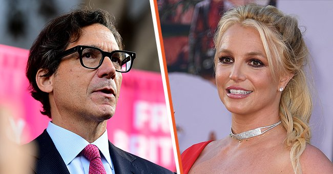 Attorney Mathew Rosengart (left) and Britney Spears (right) | Photo: Getty Images