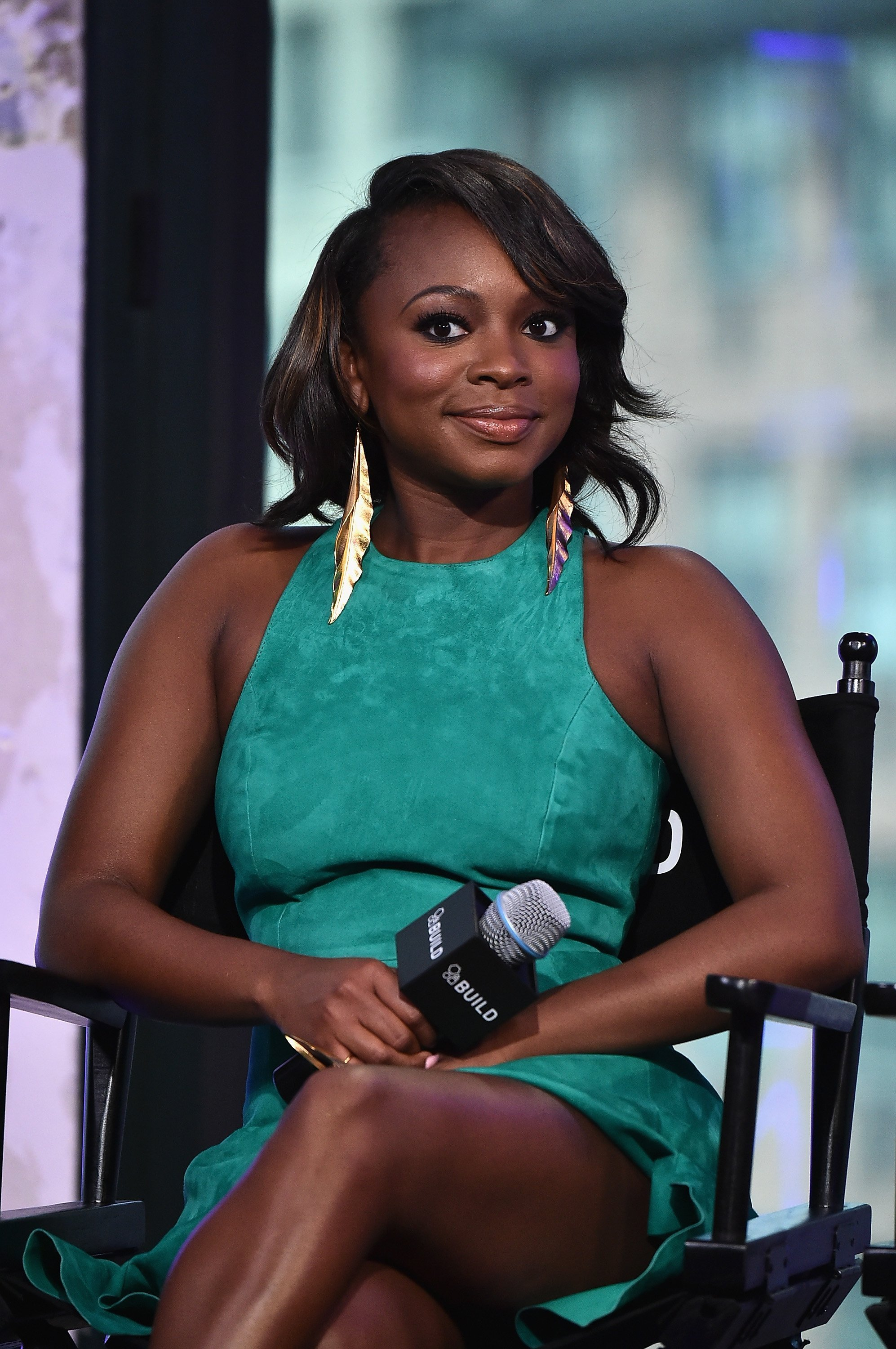 "Naturi Naughton attending the AOL Build Speaker Series at the ""Power"" at AOL HQ in July 2016. 