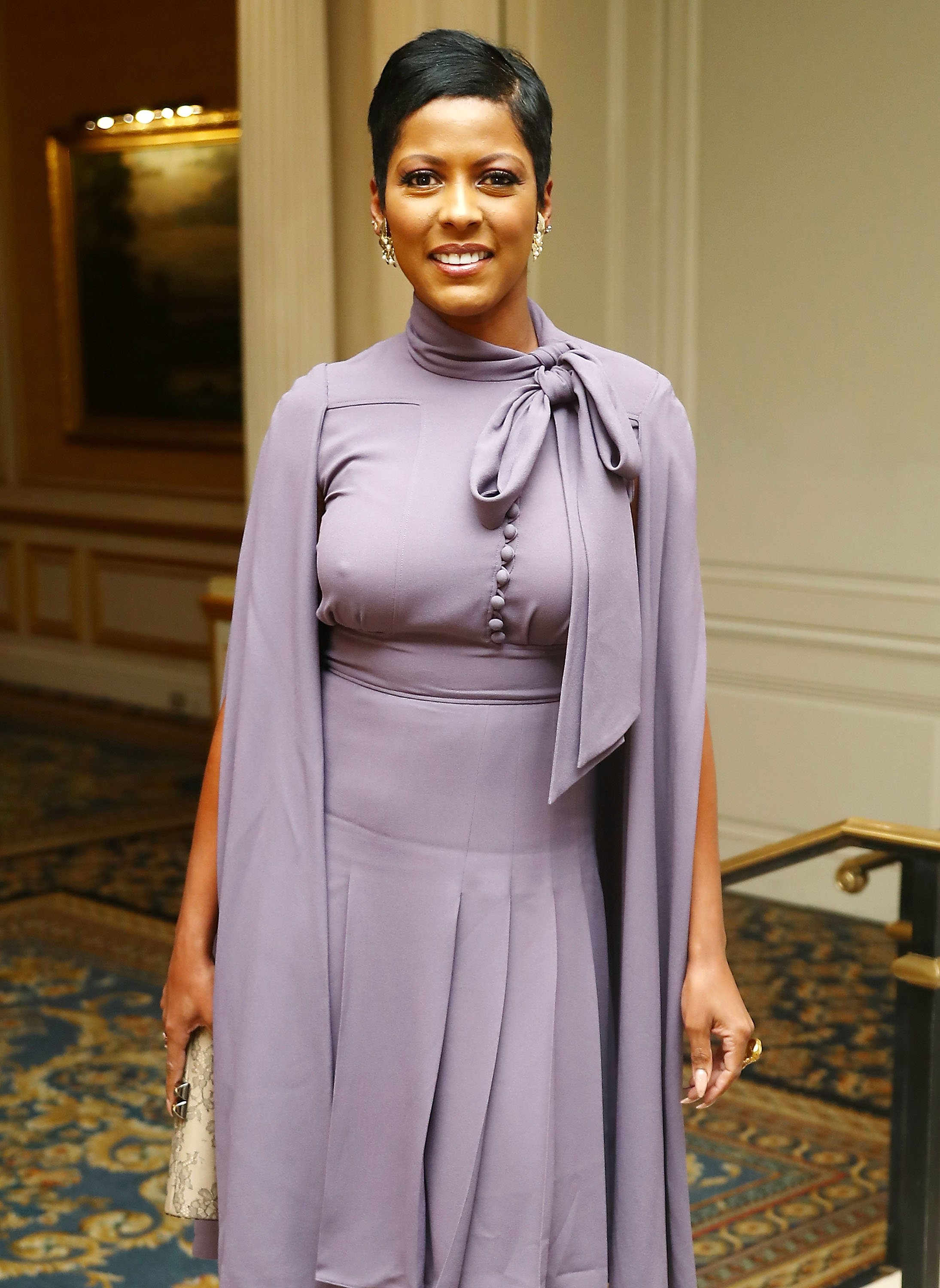 Tamron Hall attends the 11th annual Moving Families Forward gala in New York City on October 23, 2017 | Photo: Getty Images