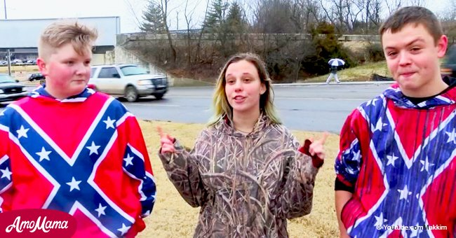 Student is admonished for refusing to remove a Confederate flag shirt