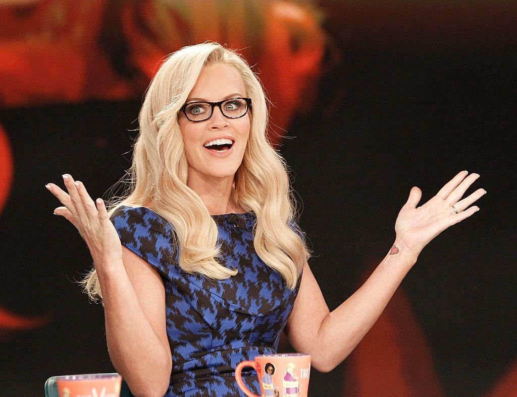 """Jenny McCarthy on """"The View"""" in 2003   Source: Getty Images"""