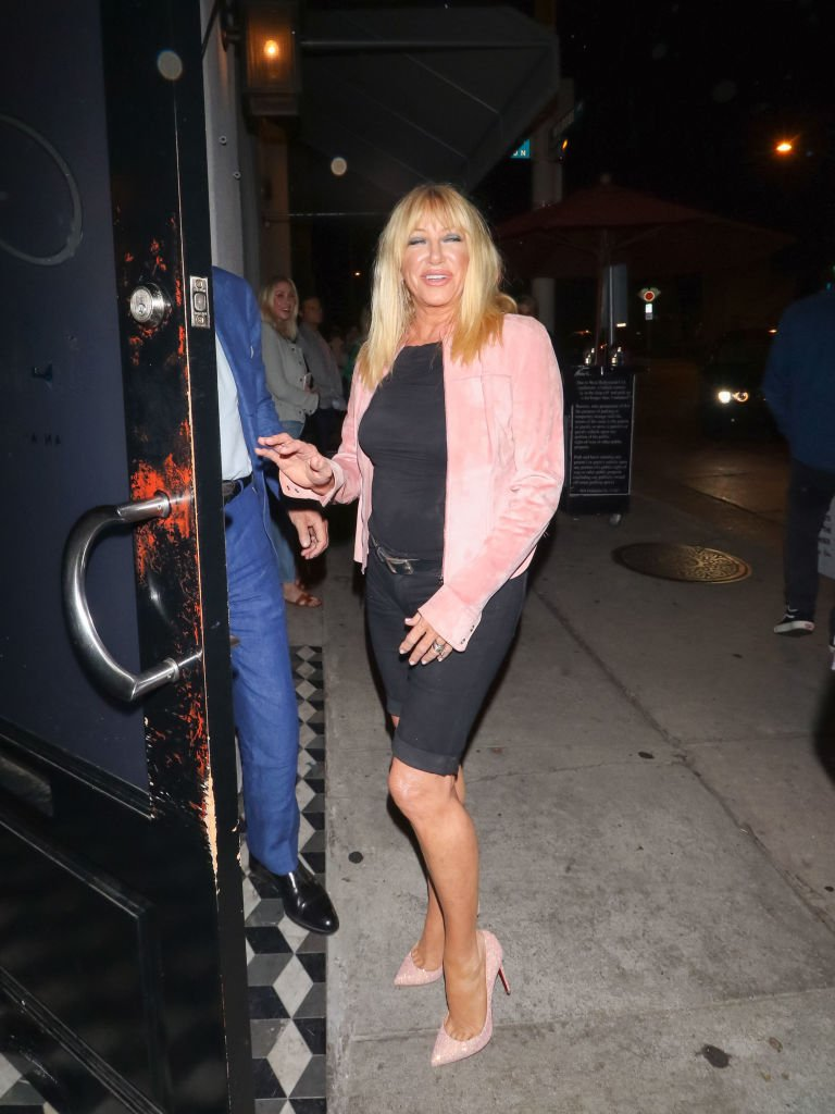 Suzanne Somers is seen on September 17, 2018 in Los Angeles, California | Photo: Getty Images
